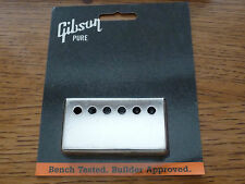 Genuine Gibson Nickel neck PAF pickup cover Les Paul SG Humbucker 57 Classic