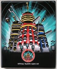 Dr Doctor Who Daleks 2150AD Trading Card Binder + 54 Card Base + 9 Card Chase