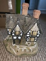 David Winter Cottages Falstaff Manor Limited Edition Vintage 1986