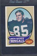 1970 Topps #187 Martin Baccaglio Bengals EX/MT *1945