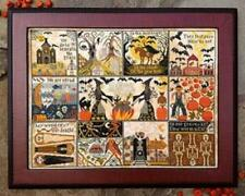 Halloween at Hawk Run Hollow by Carriage House Cross Stitch pattern