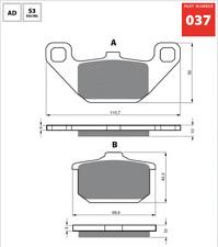 Front Sintered Brake Pads Fits KAWASAKI VN800 VULCAN 1995 1996 1997 SH0