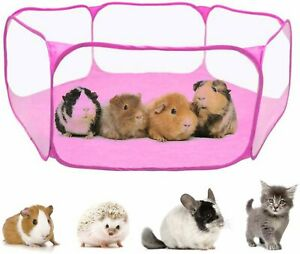 Guinea Pig Accessories for Guinea Pig, Rabbits, Hamster,, Pink, Size  E8bV