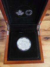 CANADA $20 .999 Silver Scallop Coin 2016 The Orca - Master of the Sea