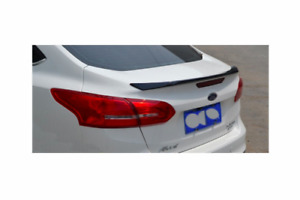 For Ford Focus 3 2015 - 2018 SEDAN ABS Factory Style Spoiler Wing