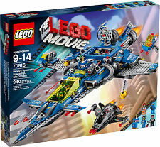 LEGO BENNY'S SPACESHIP 70816 Set New & Sealed Box Movie Classic Space 7x minifig