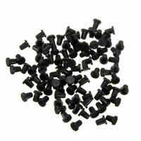 100PCS Tube Rubber Black Sealing Plug Elbow Stopper For Cartridge CISS Fitting