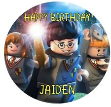Lego Harry Potter Edible Icing Cake Topper