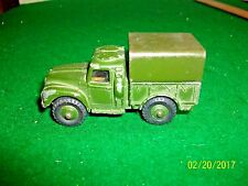 Vintage Meccano Dinky Toys Army One Ton Cargo Truck # 641 made in England