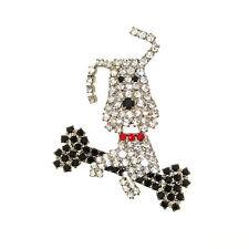 Crystal Animals Vintage Costume Jewellery