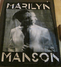 MARILYN MANSON TEXTILE POSTER FLAG  RARE NEW NEVER OPENED