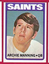 1972 TOPPS FB #55 ARCHIE MANNING/SAINTS (RC) EX/MT
