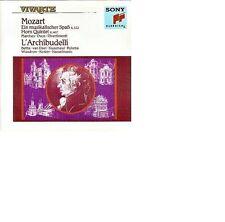 Mozart: un musicale/corne quintet/MARCHES/Duos l 'archibudelli rar NEUF