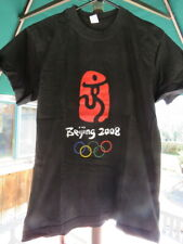Large Tee T-Shirt: 2008 Beijing, CHINA Olympics (Actually American SMALL Size)
