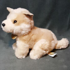 AURORA Miyoni Tots Akita Puppy Soft Plush Stuffed Animal Toy Cream Tan Dog 9""