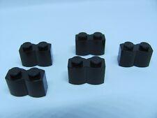 LEGO 30136 @@ Brick, Modified 1 x 2 Log (x5) @@ Black 3053 4184 4730 79007