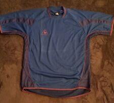 """Vintage Le Coq Sportif Soccer Football Jersey Shirt Size """"L"""" Excellent"""