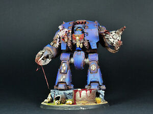 PRO-PAINTED WH40000 Night Lords Leviathan Dreadnought Warhammer 40K (IN-STOCK)