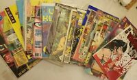 Mixed Lot Comic Books, Magazines Vampirella. Marvel, DC, Love and Rockets. 22 pc