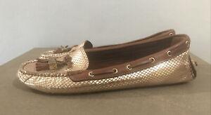 Tory Burch Metallic Gold shoes women's size 9.5