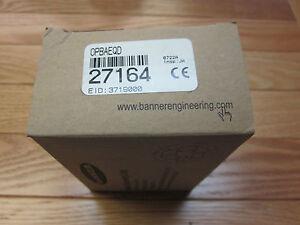 Banner OPBAEQD 27164 Omni beam power block NEW
