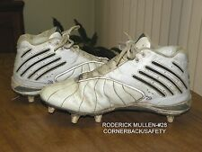 Green Bay Packers #28 Cb/S Roderick Mullen Game Used Nike Cleats