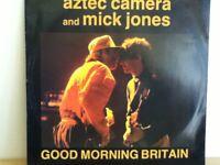"AZTEC   CAMERA           12""  SINGLE ,  GOOD  MORNING  BRITAIN"