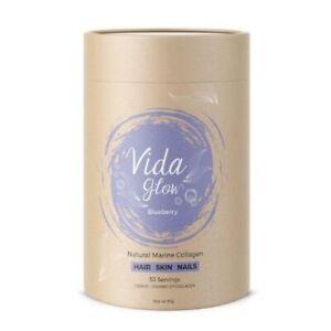 Vida Glow-Blueberry Marine Collagen 30x3G
