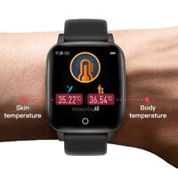 Smart Watch Bluetooth Health Care Heart Rate Calories - iOS Android Compatible