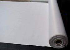 Vinyl Upholstery Fabric White by 5 Yards Durable Grade Vinyl Fabric