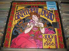 GRATEFUL DEAD 2 LP JULY 29 1966 # RSD 2017 HYPE STICKER BLUES PSYCH ROCK SEALED