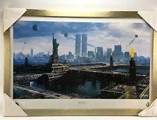 Star Trek Next Generation New Borg City Robert Stromberg Framed Lithograph Signe