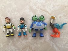 Disney Jr Miles from Tomorrowland Leo Watson Crick Alien Merc UK FIGURES Lot