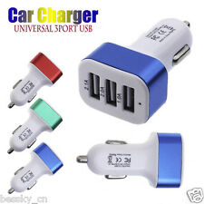 Cheap! Universal 3 USB Car Charger 12V 24V To 5V Adapter For Smart phone GPS