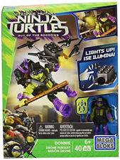 Mega Bloks Teenage Mutant Ninja Turtles Donnie Drone Pursuit 34 Pieces 6+