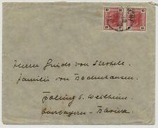 ÖSTERREICH 1905 AUSLANDSBRIEF, nach POLLING (Deustchland)