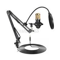 BM800 Condenser Microphone Kit Live Show Studio Suspension Boom Scissor Stand
