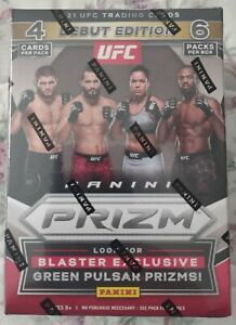 🔥🔥🔥2021 PANINI PRIZM UFC DEBUT EDITION BLASTER BOX Debut Edition