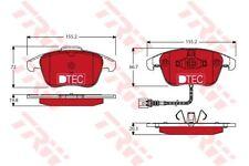 GDB1762DTE TRW Bremsbelagsatz, Scheibenbremse Vorderachse