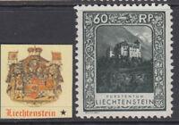 LIECHTENSTEIN - Yv 103 cv 170$ MH* perf 11½x10½