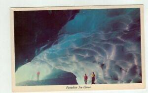 RAINIER NATIONAL PARK Washington vintage post card - Paradise Ice Caves