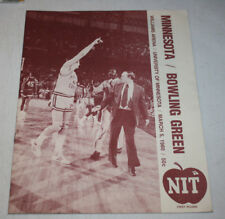 Minnesota Gophers Basketball Program Magazine NIT | March 5 1980 | Kevin McHale