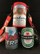 Koozie Holder Necklace Drinkstrap Beer Soda Can Bottle Cooler New Brew Pack