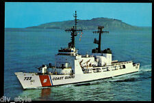 Uscgc Rush Whec-723 postcard Us Coast Guard high endurance cutter