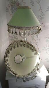 Vintage Tassel Lampshades X2