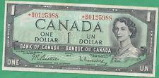 1954 Canada 1 Dollar Replacement Note- Beattie/ Raminsky- *B/M Prefix with FPN