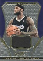 2013-14 Select Swatches Kings Basketball Card #23 DeMarcus Cousins Jersey