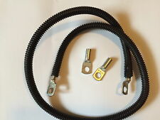 BATTERY EARTH CABLE DUAL BATTERY ISOLATOR 100 AMP 1 METRE LONG
