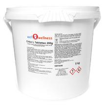 Chlortabletten 200g Chlor L Tabletten langsam löslich mit 90% Aktivchlor 5,0 kg