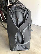 Osprey Sojourn 100l Backpack/Rolling Travel Luggage Backpack Black Gray Wheeled